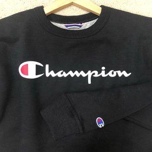 Champion reverse weave small black sweatshirt